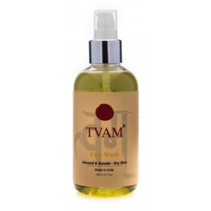 Buy TVAM Almond Sandal For Dry Skin Face Wash - Nykaa