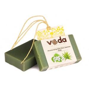 Buy Veda Essence Moisturizing Aloe Vera Jasmine Soap - Nykaa