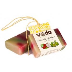 Buy Veda Essence Clarifying Apple Cider  Bergamot Soap - Nykaa