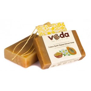 Buy Veda Essence Fuller Earth Papaya Extract Soap - Nykaa