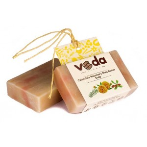 Buy Veda Essence Calendula  Rosemary Shea Butter Soap - Nykaa