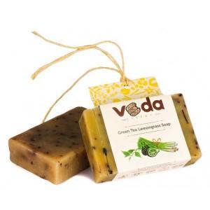 Buy Veda Essence Green Tea Lemongrass Soap - Nykaa