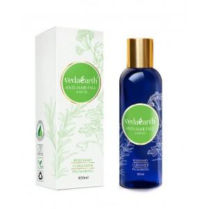Buy VedaEarth Anti-Hair Fall Hair Oil - Nykaa