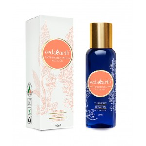 Buy VedaEarth Anti-Pigmentation Facial Oil - Nykaa