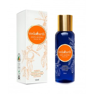 Buy VedaEarth Anti-Ageing Facial Oil - Nykaa