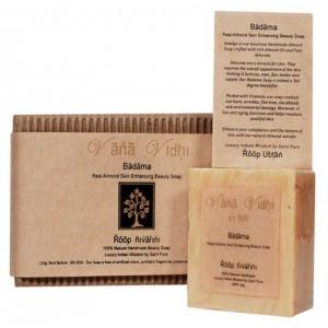 Buy Vana Vidhi Badama - Real Almond Skin Enhancing Soap - Nykaa