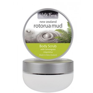 Buy Wild Ferns Rotorua Mud Body Scrub With Lemongrass - Nykaa