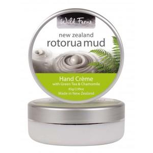Buy Wild Ferns Rotorua Mud Hand Creme With Green Tea & Chamomile - Nykaa
