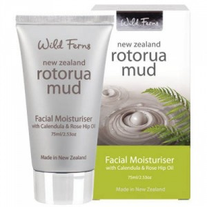 Buy Wild Ferns Rotorua Mud Facial Moisturiser With Calendula & Rose Hip Oil  - Nykaa