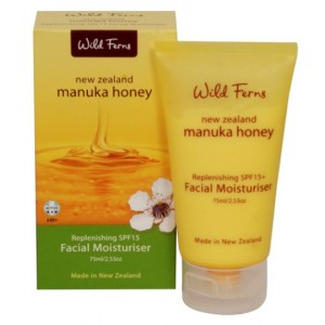 Buy Wild Ferns Manuka Honey Replenishing SPF15 Facial Moisturizer - Nykaa
