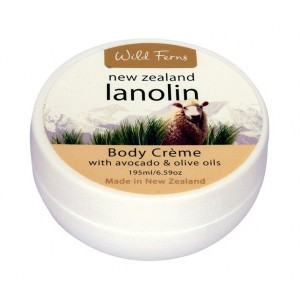 Buy Herbal Wild Ferns Lanolin Body Creme With Avocado & Olive Oils - Nykaa