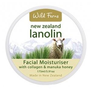 Buy Herbal Wild Ferns Lanolin Facial Moisturiser With Collagen & Manuka Honey - Nykaa