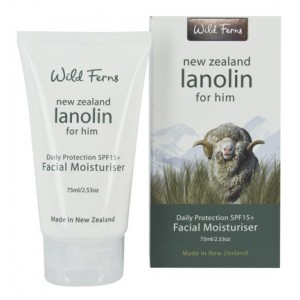 Buy Herbal Wild Ferns Lanolin For Him Daily Protection SPF15+ Facial Moisturiser - Nykaa