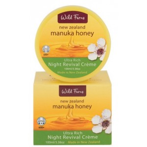 Buy Wild Ferns Manuka Honey Ultra Rich Night Revival Creme - Nykaa