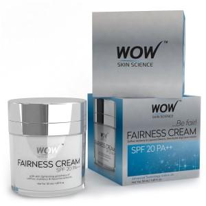 Buy WOW Fairness Cream SPF 20PA++ - Nykaa