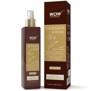 Buy WOW Lavender & Rose Skin Mist Toner - Nykaa