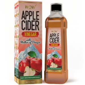 Buy WOW Apple Cider Vinegar - Pack of 1 - Nykaa