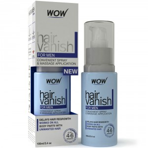 Buy Wow Hair Vanish For Men Hair Retardant Application Just 4-6 Week - Nykaa