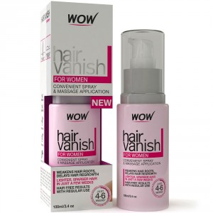 Buy Wow Hair Vanish For Women Hair Retardant Application Just 4-6 Week - Nykaa