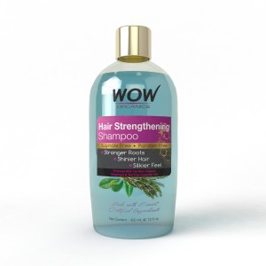 Buy WOW Organics Hair Strengthening Shampoo With Paraben and Sulphate Free - Nykaa
