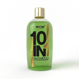 Buy WOW Organics Miracle 10 in 1 Shampoo With Paraben Free and Sulphate Free - Nykaa