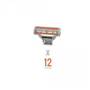 Buy WayToShave The Omega 3 (Pack of 12 Cartridges) - Nykaa