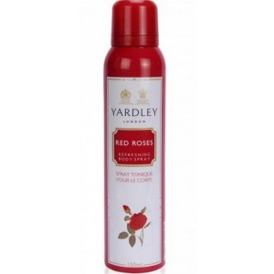 Buy Yardley Red Roses Deodorant - Nykaa