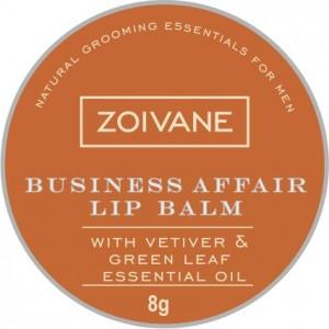Buy Herbal Zoivane Men Business Affair Lip Balm - Nykaa