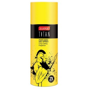 Buy Zuska Titan Perfumed Deo Spray With 2X More Perfume - Nykaa