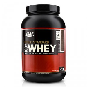 Buy Optimum Nutrition Gold Standard 100% Whey Double Rich Chocolate - 2 lbs - Nykaa