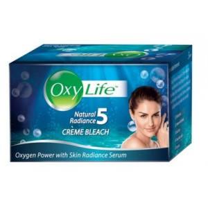 Buy Herbal OxyLife Natural Radiance 5 Creme Bleach - Nykaa
