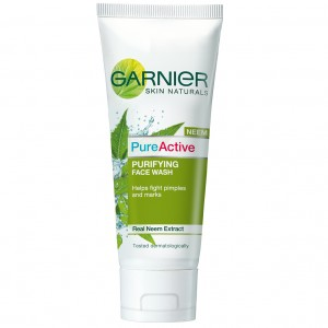 Buy Garnier Pure Active Neem Face Wash - Nykaa