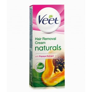 Buy Veet Naturals Hair Removal Cream with Papaya Extracts - Nykaa