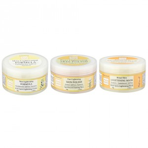 Buy Auravedic Super Skin Lightening Range Combo (set of 3) - Nykaa