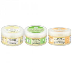 Buy Auravedic Lighter Brighter Skin Combo (set of 3) - Nykaa