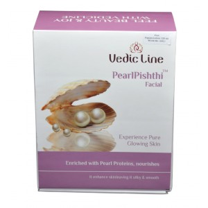 Buy Vedic Line Pearl Pishthi Facial With Free Papaya Lotion Worth Rs.240 - Nykaa