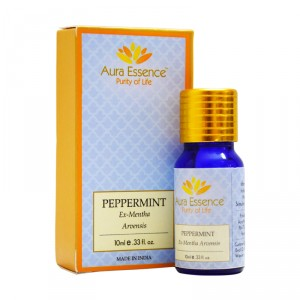 Buy Aura Essence Pure Peppermint Essential Oil - Nykaa