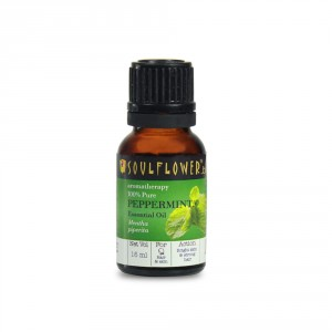 Buy Soulflower Peppermint Essential Oil - Nykaa