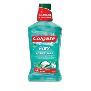 Buy Colgate Plax Active Salt Mouthwash - Nykaa