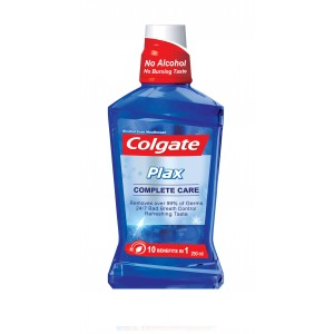 Buy Colgate Plax Complete Care Mouthwash - Nykaa