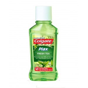 Buy Colgate Plax Fresh Tea Mouthwash - Nykaa