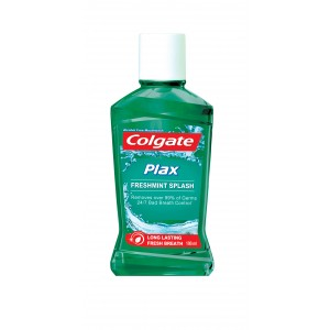 Buy Colgate Plax Fresh Mint Mouthwash - Nykaa