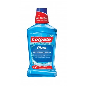 Buy Colgate Plax Peppermint Mouthwash - Nykaa