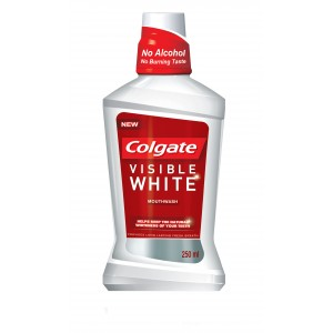 Buy Colgate Plax Visible White Mouthwash - Nykaa