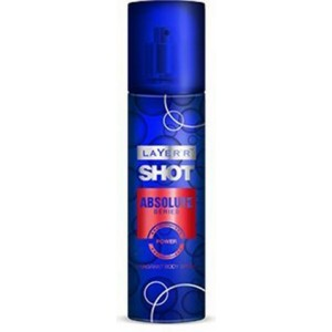 Buy Layer'r Shot Absolute Series Power Body Spray - Nykaa