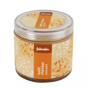 Buy Fabindia Haldi Chandan Mud Face Pack - Nykaa
