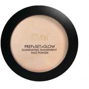 Buy Milani Prep + Set + Glow Illuminating Face Powder - Nykaa