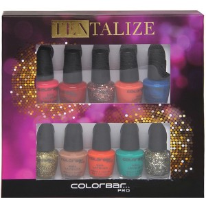Buy Colorbar Pro Mini Collection Tentalize Nail Kit - Nykaa