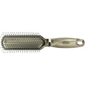 Buy Vega Flat Brush - Silver - Nykaa