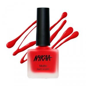 Buy Nykaa Fall Winter Matte Nail Enamel Collection - Nykaa